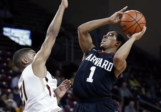 Harvard wins 5th straight vs. Boston College 79-63