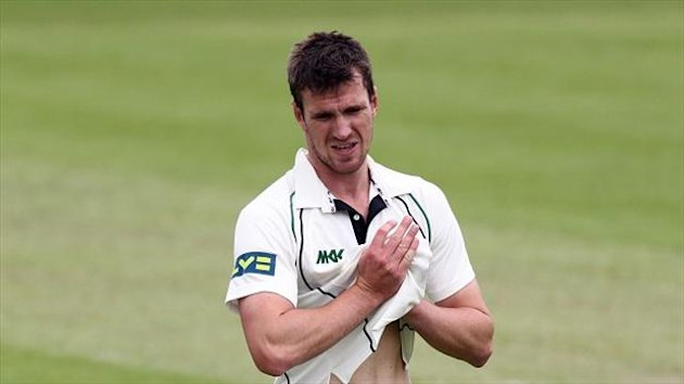 Jack Shantry took eight wickets against Glamorgan