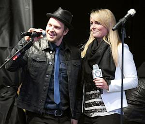 Lindsey Vonn and Gavin Degraw Kick Off 100 Days To The Olympics In NYC