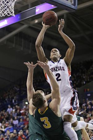 No. 24 Gonzaga tops San Francisco 69-41