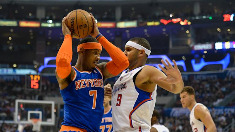 ... Knicks at Los Angeles … NBA: New York Knicks at Los Angeles Clippers
