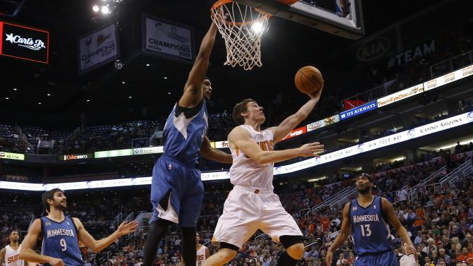 Suns' Dragic out with right ankle sprain