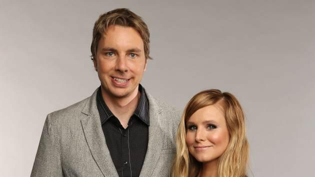 Dax Shepard and Kristen Bell at The 2013 CMT Music Awards -- Getty Images
