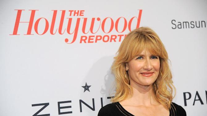 Laura Dern arrives at The Hollywood Reporter Nominees' Night at Spago on Monday, Feb. 4, 2013, in Beverly Hills, Calif. (Photo by Chris Pizzello/Invision for The Hollywood Reporter/AP Images)