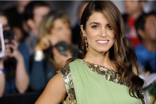 "Nikki Reed arrives at the world premiere of ""The Twilight Saga: Breaking Dawn - Part 1"" on Monday, Nov. 14, 2011, in Los Angeles. (AP Photo/Chris Pizzello)"