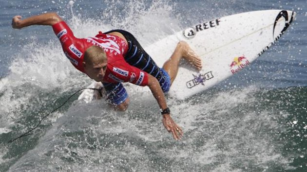 Mick Fanning of Australia (Reuters)