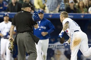 Jays' Brett Lawrie Suspended for Hitting Ump with Helmet