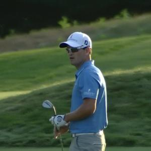 Zach Johnson's fabulous approach sets up tap-in birdie at Deutsche Bank