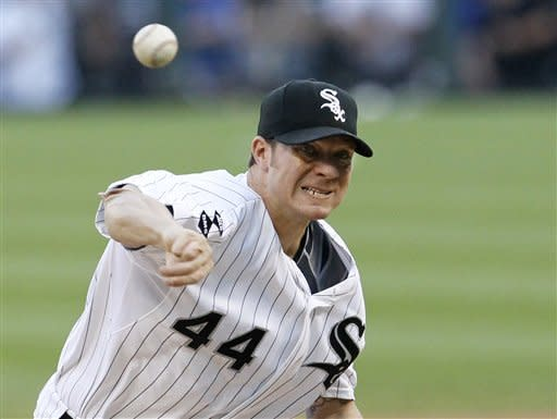 Wood outpitches Peavy, Cubs edge White Sox 2-1