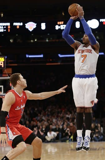 Paul scores 25, leads Clippers past Knicks, 102-88