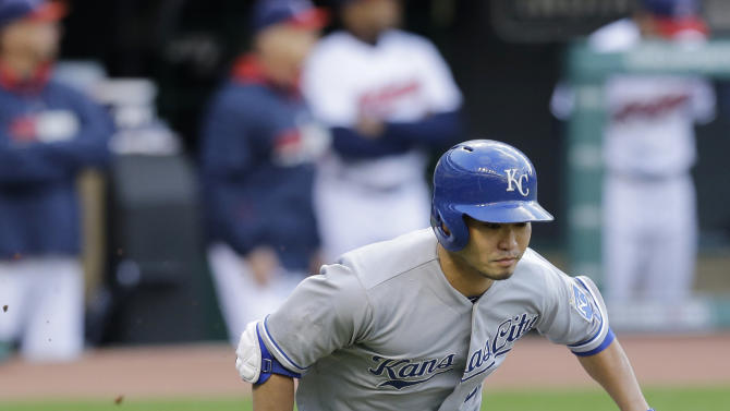 Indians beat Royals 4-3 in suspended game