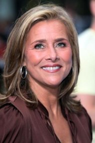 Meredith Vieira with a sleeker hairdo. / Getty Images