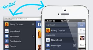 Is Facebook Giving Us A Better Looking News Feed? image mobile new newsfeed facebook5