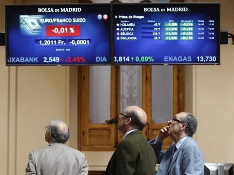 bolsa madrid spain stock exchange