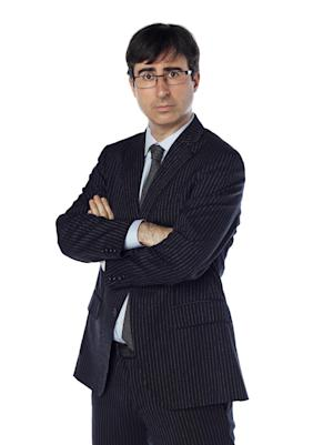 """This undated image released by Comedy Central shows John Oliver, a correspondent from """"The Daily Show with Jon Stewart."""" Oliver will temporarily replace host Jon Stewart on the popular spoof news show while Stewart directs and produces the film, """"Rosewater."""" (AP Photo/Comedy Central, Martin Crook)"""