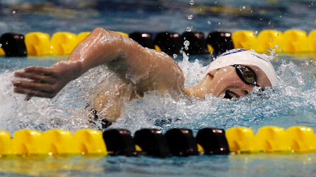 Katie Ledecky, who could earn an Olympic berth as a 15-year-old &#x002014; Associated Press