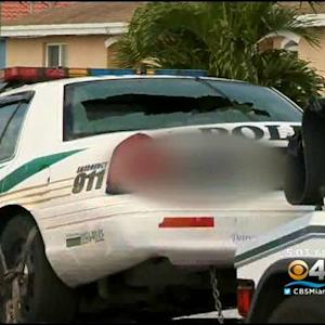 Miami-Dade Police Cruiser Shot Up Outside Officer's Home