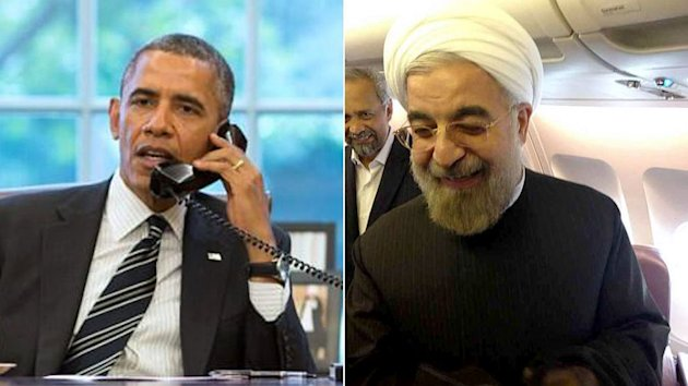 President Obama and Iranian President Discuss Nukes by Phone (ABC News)