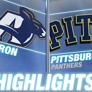Akron vs Pittsburgh | 2014 ACC Football Highlights