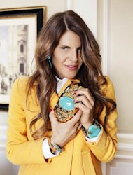 Anna Dello Russo has designed an accessories line for H&M