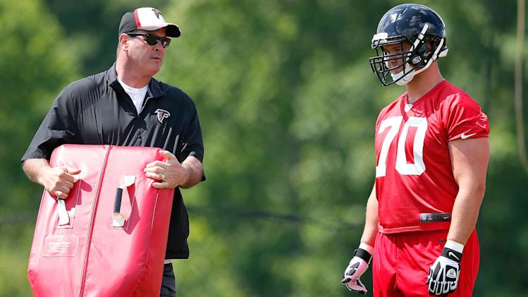 With Sam Baker out, Atlanta Falcons turn to Jake Matthews at le…