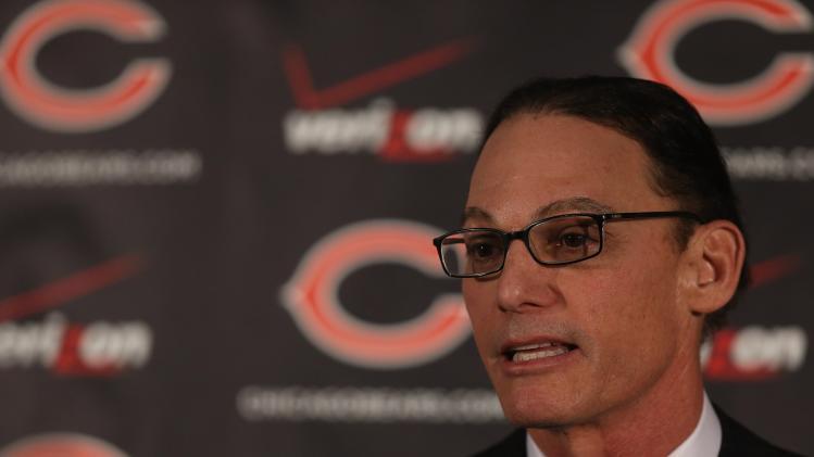 Chicago Bears Introduce Marc Trestman