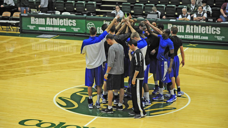 NCAA Basketball: Air Force at Colorado State