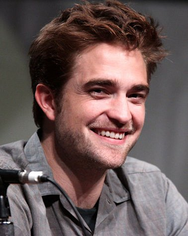 Robert Pattinson makes an appearance during the 2012 Comic-Con in San Diego, California.