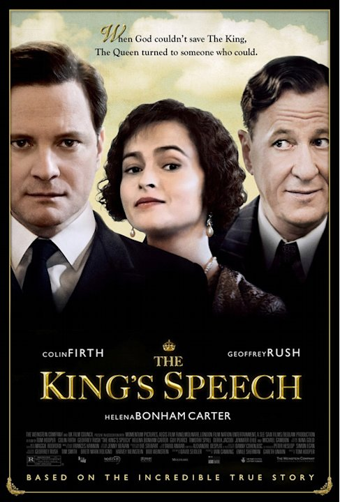 Best and Worst Movie Posters of 2010 The Kings Speech
