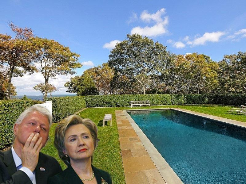 clintonwatch: Let's Spy on the Clintons' Amagansett Rental