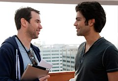 Doug Ellin, Adrian Grenier | Photo Credits: Claudette Barius/HBO