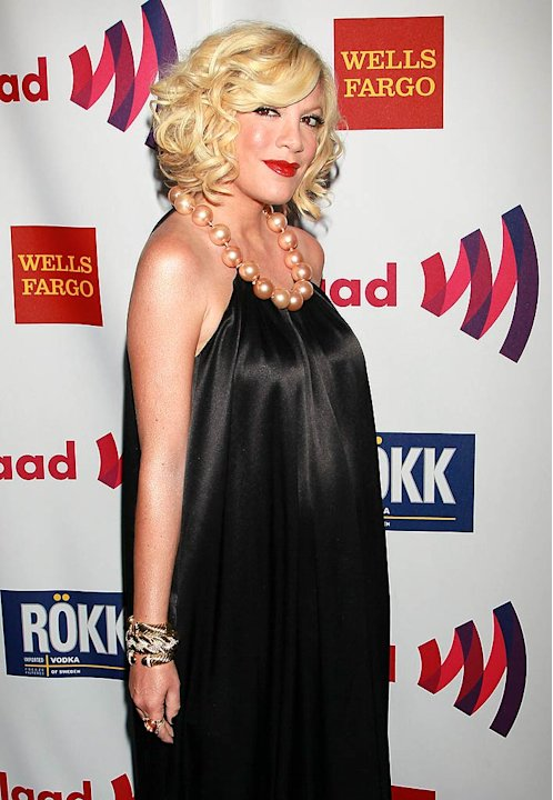 Tori Spelling GLAAD Media Awards