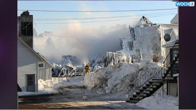 8 Confirmed Dead In Quebec Fire, About 30 Missing