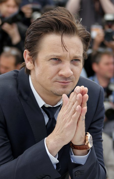 "Cast member Jeremy Renner poses during a photocall for the film ""The Immigrant"" at the 66th Cannes Film Festival"