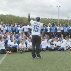 Detroit Lions host Play 60 event in London