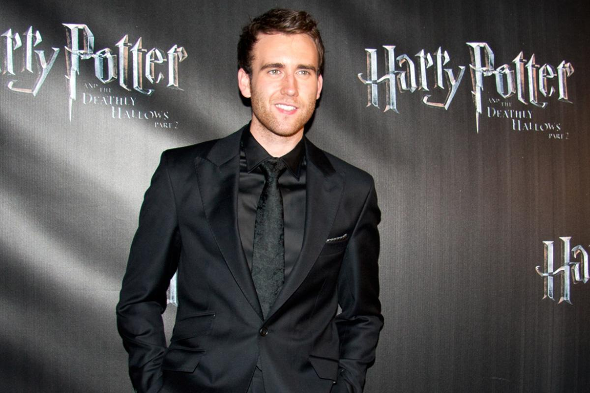 Neville Longbottom took off his clothes and JK Rowling was not prepared