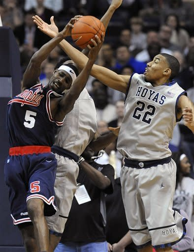 Clark, Thompson lead No. 16 Hoyas over Memphis
