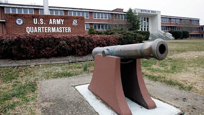 Soldier dies after shooting herself in Virginia