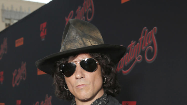 Enrique Bunbury attends the premiere of Pantelion Film's 'Cantinflas' at TCL Chinese Theatre on Wednesday, August 27, 2014 in Los Angeles. (Photo by Todd Williamson/Invision for Pantelion Films/AP Images)