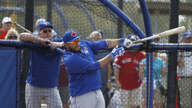 MLB: Toronto Blue Jays- Workout
