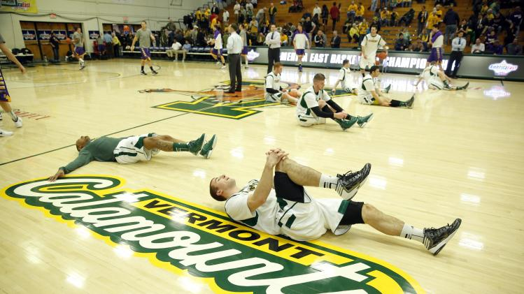 NCAA Basketball: America East Tournament-Albany at Vermont