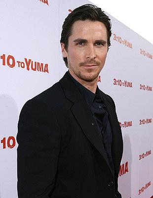 Christian Bale at the Los Angeles premiere of Lionsgate Films' 3:10 to Yuma