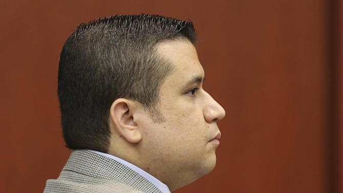 George Zimmerman sits at the defense table during jury selection for his trial in Seminole circuit court in Sanford, Fla., Friday June 14, 2013. Zimmerman has been charged with second-degree murder for the 2012 shooting death of Trayvon Martin.(AP Photo/Orlando Sentinel, Gary W. Green, Pool)