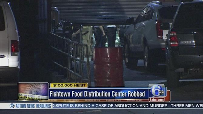 Robbers, posing as police, steal $100K from food distribution center in Fishtown