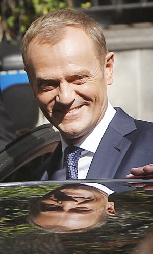 Poland's PM Tusk remains leader of his party