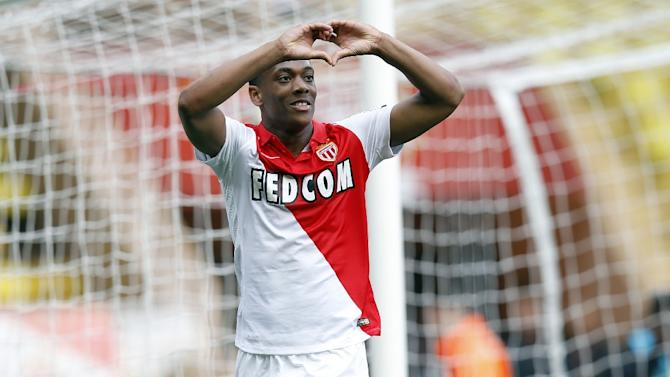 Anthony Martial, pictured on May 3, 2015, joins Manchester United on a four-year contract