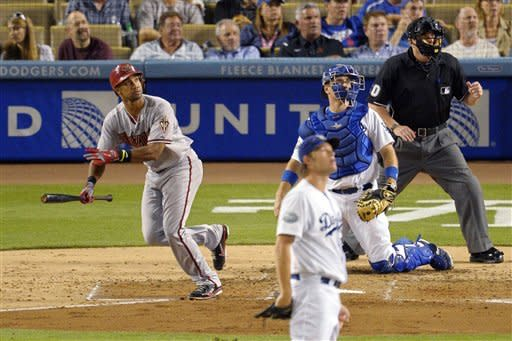 Diamondbacks beat Dodgers 2-0 to end 6-game skid