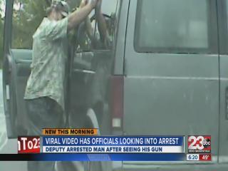 Viral video has officials looking into arrest