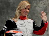 Maria de Villota at the Australian Grand Prix in Melbourne in March. Spanish Formula One driver Maria De Villota is fighting for her life on Tuesday after suffering serious injuries during a crash in testing for the Marussia team, it was confirmed