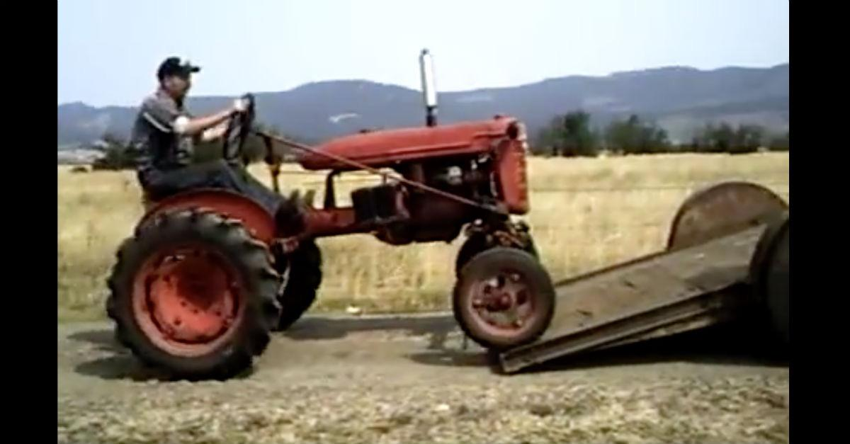 (See What Happens Next) How Not to Load a Tractor!